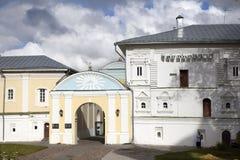 Καθεδρικός ναός χριστιανισμού στη Ρωσία, πόλη Kostroma, μοναστήρι Ipatievsky, λίκνο του σπιτιού Romanovs Στοκ Φωτογραφία