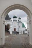 Καθεδρικός ναός χριστιανισμού στη Ρωσία, πόλη Kostroma, μοναστήρι Ipatievsky, λίκνο του σπιτιού Romanovs Στοκ Εικόνες