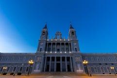 Καθεδρικός ναός Almudena της Μαδρίτης, Ισπανία Στοκ φωτογραφία με δικαίωμα ελεύθερης χρήσης
