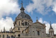 Καθεδρικός ναός Almudena Στοκ εικόνες με δικαίωμα ελεύθερης χρήσης
