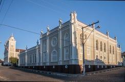 Καθεδρικός ναός Amparo Βραζιλία αγορών Στοκ εικόνα με δικαίωμα ελεύθερης χρήσης