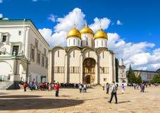 Καθεδρικός ναός Annunciation και καθεδρικός ναός του αρχαγγέλου μέσα Στοκ εικόνες με δικαίωμα ελεύθερης χρήσης