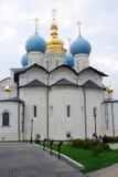Καθεδρικός ναός Annunciation Κρεμλίνο Kazan, Ρωσία Στοκ εικόνα με δικαίωμα ελεύθερης χρήσης