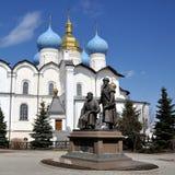 Κρεμλίνο Kazan, Ρωσία Στοκ φωτογραφία με δικαίωμα ελεύθερης χρήσης