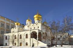 Καθεδρικός ναός Annunciation, Μόσχα, Ρωσία Στοκ Εικόνες