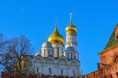 Καθεδρικός ναός Annunciation, Μόσχα, Ρωσία Στοκ φωτογραφίες με δικαίωμα ελεύθερης χρήσης