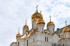 Καθεδρικός ναός Annunciation στη Μόσχα Κρεμλίνο Στοκ φωτογραφίες με δικαίωμα ελεύθερης χρήσης