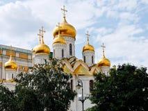 Καθεδρικός ναός Annunciation στη Μόσχα Κρεμλίνο Στοκ Εικόνα