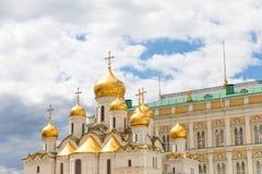 Καθεδρικός ναός Annunciation στο Κρεμλίνο μια ηλιόλουστη ημέρα Στοκ Εικόνα