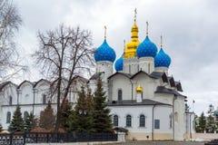Καθεδρικός ναός Annunciation στο Κρεμλίνο Kazan, Ρωσία Στοκ Εικόνα
