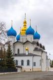 Καθεδρικός ναός Annunciation στο Κρεμλίνο Kazan, Ρωσία Στοκ Φωτογραφίες