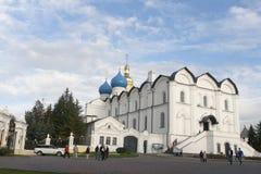Καθεδρικός ναός annunciation στο Κρεμλίνο, kazan, Ρωσική Ομοσπονδία Στοκ εικόνες με δικαίωμα ελεύθερης χρήσης