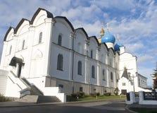 Καθεδρικός ναός annunciation στο Κρεμλίνο, kazan, Ρωσική Ομοσπονδία Στοκ Φωτογραφία
