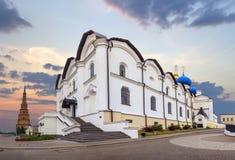 Καθεδρικός ναός Annunciation στο Κρεμλίνο Kazan, Ταταρία, Ρωσία Στοκ εικόνα με δικαίωμα ελεύθερης χρήσης