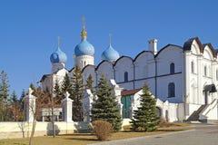 Καθεδρικός ναός Annunciation Kazan Στοκ εικόνες με δικαίωμα ελεύθερης χρήσης