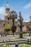 Καθεδρικός ναός Arequipa Στοκ Εικόνες