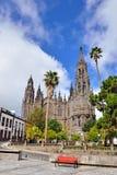 Καθεδρικός ναός Arucas, Ισπανία Στοκ φωτογραφία με δικαίωμα ελεύθερης χρήσης