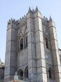 Καθεδρικός ναός Avila (Ισπανία) Στοκ φωτογραφία με δικαίωμα ελεύθερης χρήσης