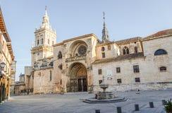 Καθεδρικός ναός Burgo de Osma στοκ εικόνες
