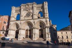 Καθεδρικός ναός Cuenca, Καστίλλη Λα Mancha Στοκ Εικόνες