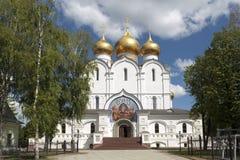 Καθεδρικός ναός Dormition σε Yaroslavl Ρωσία Στοκ φωτογραφία με δικαίωμα ελεύθερης χρήσης