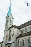 καθεδρικός ναός fraumuenster Ζυρίχη Στοκ εικόνα με δικαίωμα ελεύθερης χρήσης