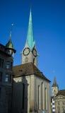 Καθεδρικός ναός Fraumuenster Στοκ εικόνα με δικαίωμα ελεύθερης χρήσης