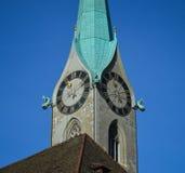 Καθεδρικός ναός Fraumuenster Στοκ εικόνες με δικαίωμα ελεύθερης χρήσης