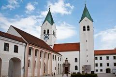 Καθεδρικός ναός Freising, επίσης calles Άγιος Mary και καθεδρικός ναός Corbinian, σε Freising, Βαυαρία, Γερμανία Στοκ Φωτογραφίες