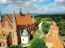 Καθεδρικός ναός Frombork Στοκ Εικόνα