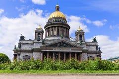 καθεδρικός ναός Isaac Πετρούπολη Ρωσία s ST Στοκ Φωτογραφίες