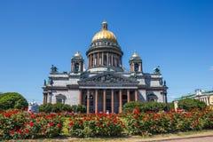 καθεδρικός ναός Isaac s Άγιος Στοκ εικόνα με δικαίωμα ελεύθερης χρήσης