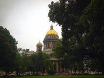 καθεδρικός ναός Isaac s Άγιος στοκ εικόνες