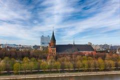 καθεδρικός ναός kaliningrad Στοκ Εικόνες