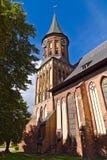 Καθεδρικός ναός Koenigsberg - γοτθικός 14ος αιώνας. Kalininigrad, Ρωσία Στοκ Φωτογραφίες