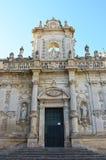 Καθεδρικός ναός Lecce που αφιερώνεται στην υπόθεση της Virgin Mary, Apulia, Ιταλία Στοκ φωτογραφίες με δικαίωμα ελεύθερης χρήσης