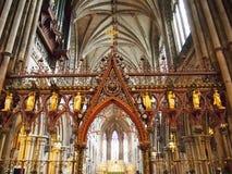 Καθεδρικός ναός Lichfield Στοκ φωτογραφία με δικαίωμα ελεύθερης χρήσης