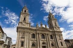 Καθεδρικός ναός Lugo Στοκ φωτογραφίες με δικαίωμα ελεύθερης χρήσης