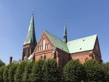 Καθεδρικός ναός Meldorf Στοκ Φωτογραφία