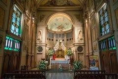 Καθεδρικός ναός Metropolitana Plaza de Armas στο Σαντιάγο, Χιλή Στοκ εικόνες με δικαίωμα ελεύθερης χρήσης