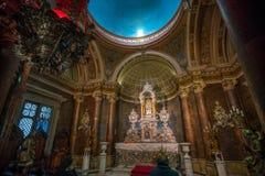 Καθεδρικός ναός Metropolitana Plaza de Armas στο Σαντιάγο, Χιλή Στοκ Φωτογραφία