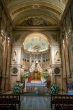 Καθεδρικός ναός Metropolitana Plaza de Armas στο Σαντιάγο, Χιλή Στοκ Εικόνες
