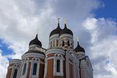 καθεδρικός ναός nevsky Ταλίν τ&omicr Στοκ φωτογραφία με δικαίωμα ελεύθερης χρήσης