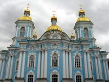 Καθεδρικός ναός Nikolsky, Αγία Πετρούπολη Στοκ εικόνες με δικαίωμα ελεύθερης χρήσης