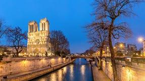 Καθεδρικός ναός Notre Dame Παρίσι Στοκ εικόνες με δικαίωμα ελεύθερης χρήσης