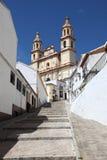 Καθεδρικός ναός Olvera, Ισπανία στοκ φωτογραφία με δικαίωμα ελεύθερης χρήσης