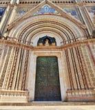 Καθεδρικός ναός Orvieto Στοκ φωτογραφία με δικαίωμα ελεύθερης χρήσης
