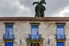 Καθεδρικός ναός Plaza - Αβάνα, Κούβα Στοκ εικόνες με δικαίωμα ελεύθερης χρήσης