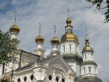 Καθεδρικός ναός Pokrovsky σε Kharkov Στοκ Εικόνα