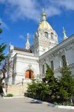Καθεδρικός ναός Pokrovsky στη Σεβαστούπολη στην οδό Bolshaya Morskaya Στοκ Εικόνα